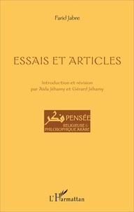 Farid Jabre - Essais et articles.