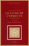Farid-ud Din Attar - Le Livre de l'épreuve - Musibatnãma.