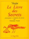Farid ud-Din' Attar - Le Livre des secrets.