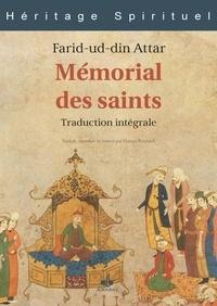 Farid ud-Din' Attar - Mémorial des saints.