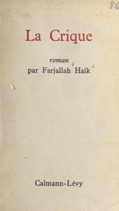 Farjallah Haïk - La crique.