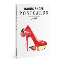Fashionary - Fashionary iconic shoe postcards book illustration by Antonio Soares.