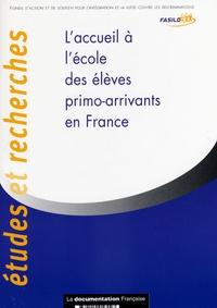 FASILD - L'accueil à l'école des élèves primo-arrivants en France.