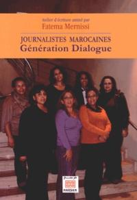 Fatema Mernissi - Journalistes marocaines - Génération Dialogue.