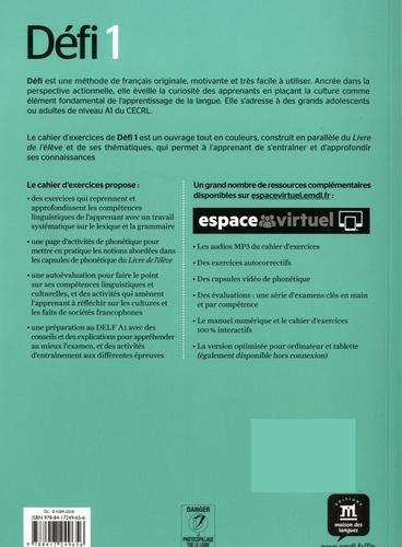 Méthode de français Défi 1 A1. Cahier d'exercices
