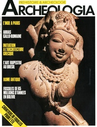 Marie-José Bourgau - Archéologia N° 213, mai 1986 : L'Inde à Paris.