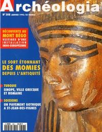 Emilia Masson - Archéologia N° 308, Janvier 1995 : Le sort étonnant des momies depuis l'Antiquité.