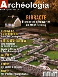 Sophie Crançon et David Fernandès - Archéologia N° 524, septembre 20 : Bibracte - Etonnantes découvertes au mont Beuvray.