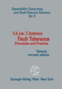Fault Tolerance - Principles and Practice.
