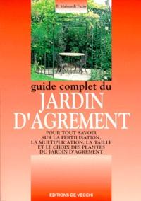 Fausta Mainardi Fazio - Guide complet du jardin d'agrément.
