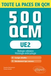 UE 2 Biologie cellulaire- 500 QCM - Faustine Declosmenil |