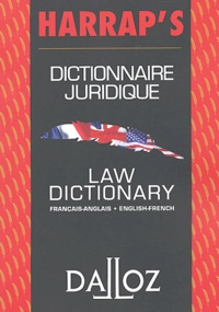 FAUVARQUE-COSSON-B - Dictionnaire juridique français-anglais Harrap's : Law dictionary english-french Harrap's.