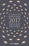 Fayard - Booklet Rentrée Littéraire 2017.