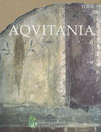 Anne Colin - Aquitania N° 19/2003 : .