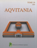 Jean-Pierre Bost - Aquitania N° 20/2004 : .