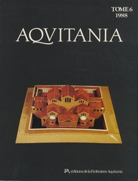 Dany Barraud - Aquitania N° 6/1988 : .