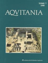 Olivier Buchsenschutz - Aquitania N° 7/1990 : .