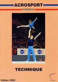 Fédération Française de Gym - Acrosport - Initiation technique.