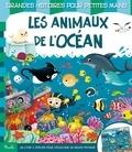 Federica Iossa - Les animaux de l'océan - Un livre à déplier pour découvrir un grand paysage.