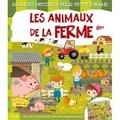 Federica Iossa - Les animaux de la ferme - Un livre à déplier pour découvrir un grand paysage.