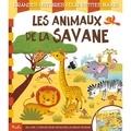 Federica Iossa - Les animaux de la savane - Un livre à déplier pour découvrir un grand paysage.