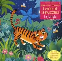 La jungle - Avec 1 livre cartonné et 3 puzzles de 9 pièces.pdf