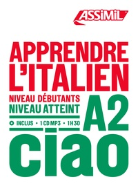 Téléchargement de livres gratuits sur iphone Apprendre l'italien  - Niveau débutants-A2