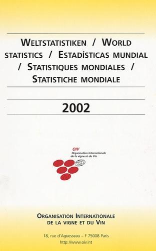 Federico Castellucci - Statistiques mondiales 2002 - Edition en français-anglais-espagnol-allemand.