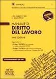 Federico Del Giudice et F. Izzo - Manuale di diritto del lavoro.