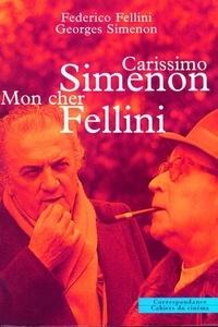 Federico Fellini et Georges Simenon - .