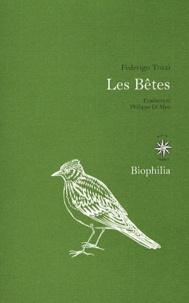 Federigo Tozzi - Les Bêtes.