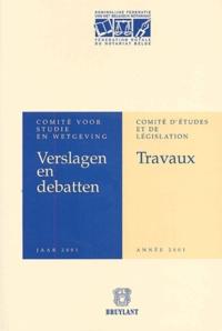 Travaux du Comité dEtudes et de Législation - Année 2001.pdf