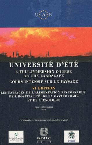 Fein - Université d'été - Cours intensif sur le paysage.