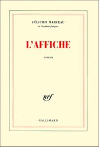 Félicien Marceau - L'affiche.