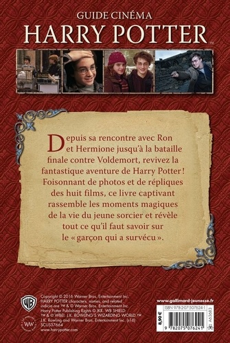 Harry Potter. Guide cinéma