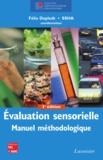 Félix Depledt et  SSHA - Evaluation sensorielle - Manuel méthodologique.