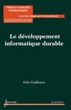 Félix Guillemot - Le développement informatique durable.