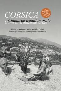Félix Quilici - Chants de tradition orale. 3 CD audio