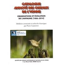Félix Rabé - Catalogue annoté des oiseaux de l'Yonne - Observations et évolution de l'avifaune (1886-2014).