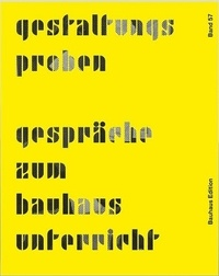 Histoiresdenlire.be Design Rehearsals - Conversations about Bauhaus Lessons Image