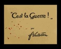 """Félix Vallotton - """"C'est la guerre !""""."""