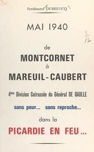 Ferdinand Dubreucq - De Montcornet à Mareuil-Caubert.