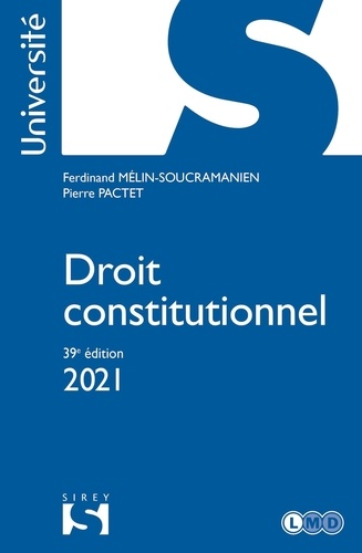 Droit constitutionnel  Edition 2021