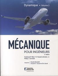 Ferdinand-P Beer et E-Russell Johnston - Mécanique pour ingénieurs - Tome 2, Dynamique.