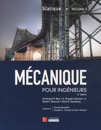 Mécanique pour ingénieurs- Tome 1, Statique - Ferdinand-P Beer   Showmesound.org