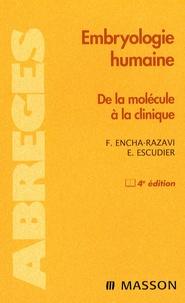 Férechté Encha-Razavi et Estelle Escudier - Embryologie humaine.