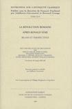 Fergus Millar et John Scheid - La révolution romaine après Ronald Syme - Bilans et perspectives.