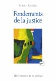 Feriel Kandil - Fondements de la justice.