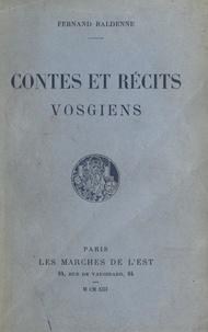 Fernand Baldenne - Contes et récits vosgiens.