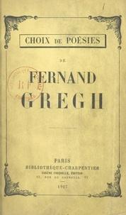 Fernand Gregh et Raymond Woo - Choix de poésies.